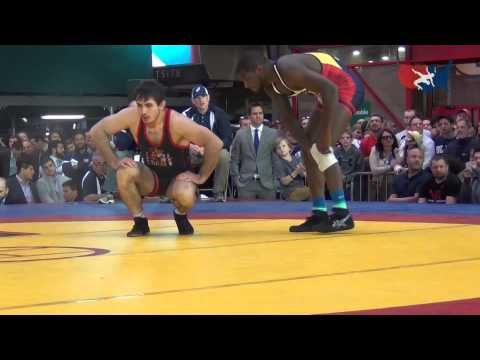 86 KG - Ed Ruth (USA) vs. Taymuraz Friev (Spain)