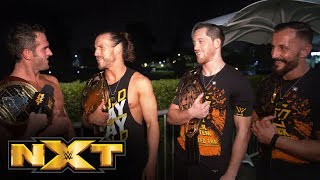 Gambar cover Undisputed ERA celebrates fulfilling prophecy: NXT Exclusive, Sept. 18, 2019