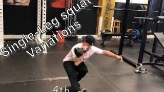 Squat Series #5: Single-Leg Squats
