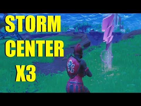 """""""Visit The Center of Different Storm Circles  in A single Match"""" Fortnite Challenge Guide Location"""
