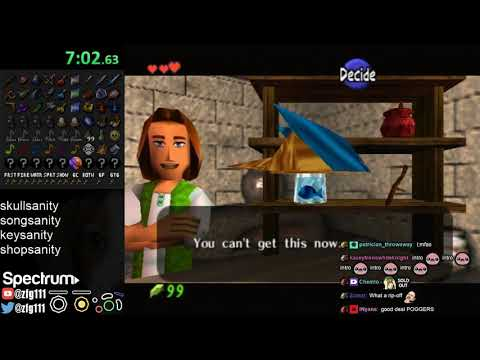 Ocarina of Time randomizer (11/10/2018)
