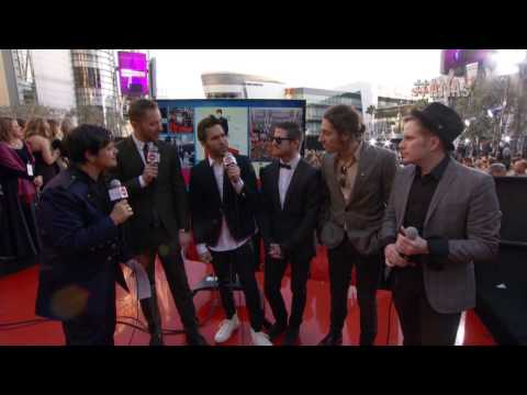 Fall Out Boy Red Carpet Interview - AMAs 2013