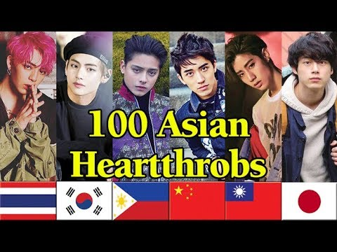 100 ASIAN HEARTTHROBS of 2018 - V of BTS is the Winner! thumbnail