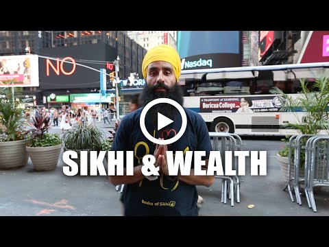 Sikhi, Wealth, Khalsa Bank + Dasvandh @ Times Square, New York