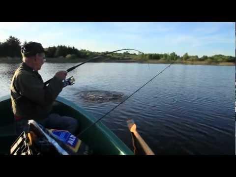 Pike Fishing On Lough Gowna, County Cavan, Ireland