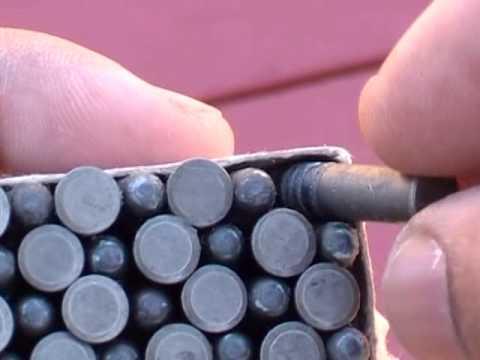 Russian Steel Case 22LR Ammo Showcase