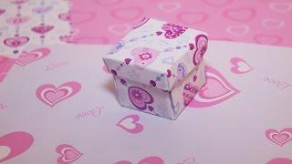 Как сделать коробочку с крышечкой своими руками(День Святого Валентина - особый праздник всех влюбленных во всем мире. Как сделать красивую коробочку из..., 2015-01-09T12:48:35.000Z)