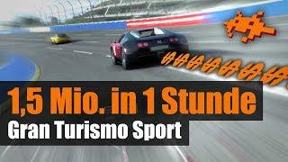 1,5 Mio. in 1 Stunde! Geld machen in Gran Turismo Sport