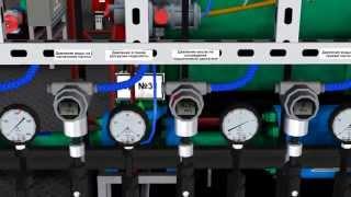 Блочная кустовая насосная станция.(БКНС. ППД. Система поддержания пластового давления. Компьютерный имитационый тренажер. Обучающие анимацио..., 2013-06-05T08:16:27.000Z)