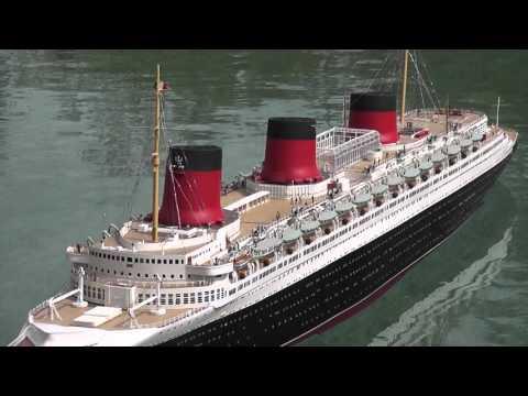 RC Boat - SS Normandie - Ocean Liner