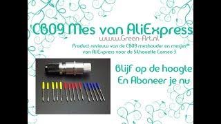 CB09 meshouder met mesjes van AliExpress - Product review