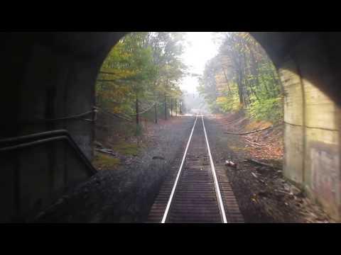 NS Lehigh Line Pattenburg Tunnel Westbound Rear View
