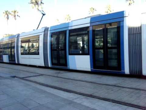 Tramway d'Alger - Algiers Tramway - ALGERIA (3)