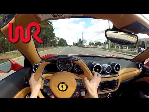 2015 Ferrari California T (Top Down) - WR TV POV City Drive