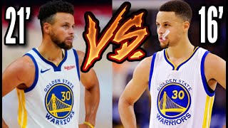 2016 Curry vs 2021 Curry: Who's Better?