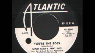Lavern Baker & Jimmy Ricks - you