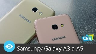 Samsungy Galaxy A3 a A5 (CES 2017)