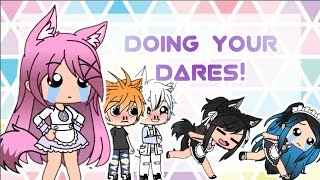 Doing Your Dares!    Gacha Life    5k special~