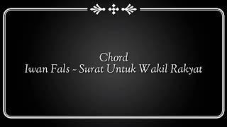 Download lagu Chord Kunci Gitar Iwan fals Surat Untuk Wakil Rakyat MP3