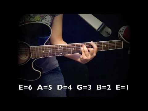 Catch Me Demi Lovato Guitar Tutorialchords No Capo Youtube