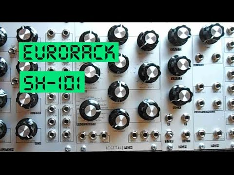 pittsburgh modular eurorack roland sh 101 synthesizer demo youtube. Black Bedroom Furniture Sets. Home Design Ideas