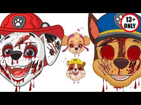 PAW Patrol The Movie 🚨 Scary HALLOWEEN Night 🎃 Paw Patrol Full Episode ⛑️ Paw Patrol Monster 🐶