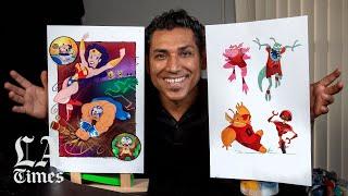 This Disney animator draws on his Salvadoran boyhood