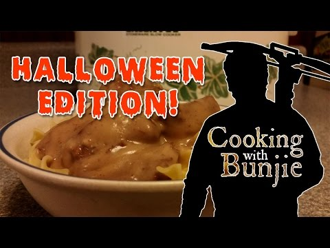 Vension & Cream of Mushroom Soup Crockpot Recipe -- Cooking with Bunjie!