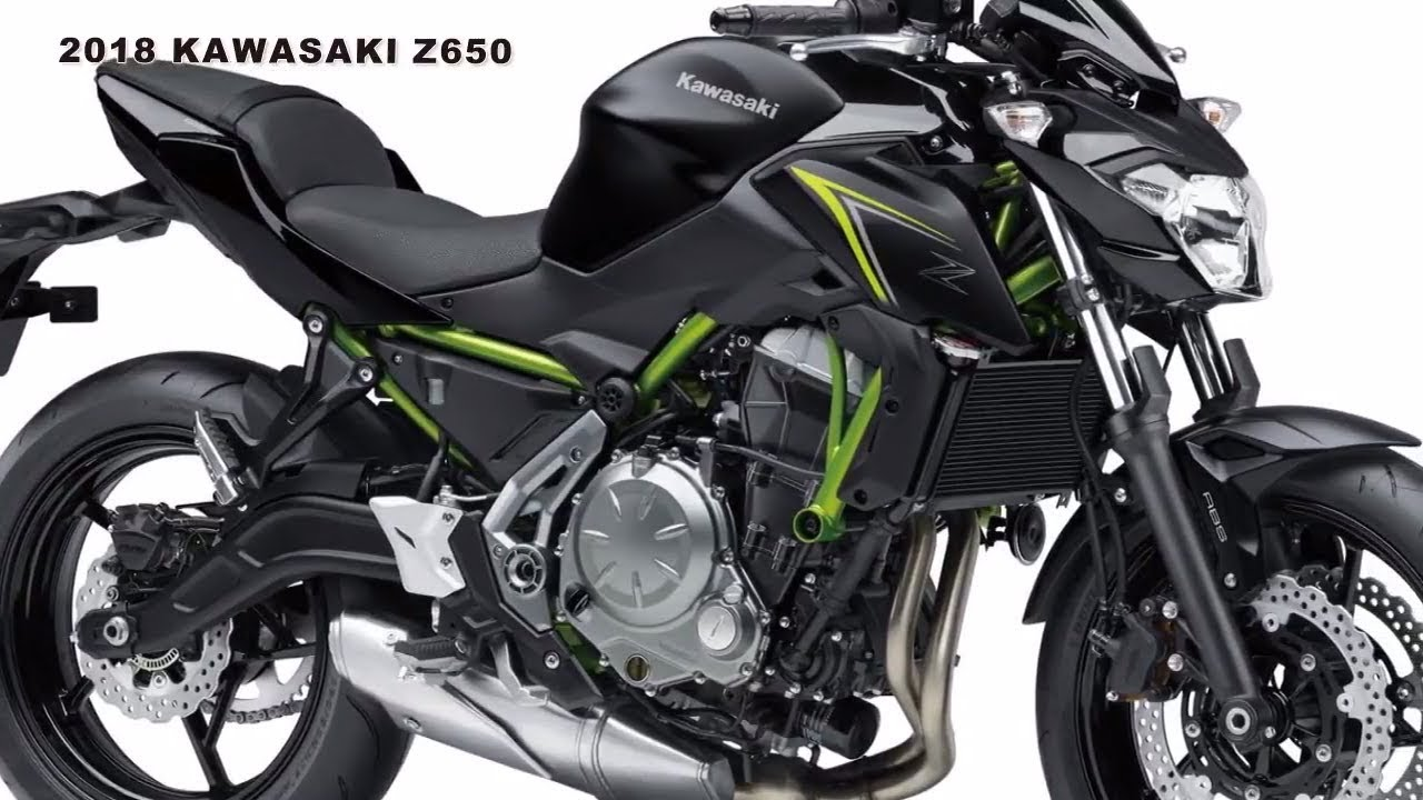 2018 Kawasaki Z650 Revealed Getting New Colors And Variants Youtube