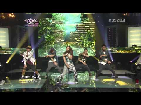 Live HD | 120824 BoA - Only One (ft. Luhan of EXO-M) @Music Bank