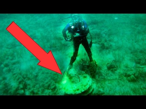 10 BIZARRE Things Found Underwater