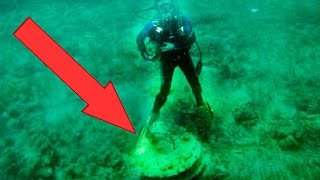 10 BIZARRE Things Found Underwater