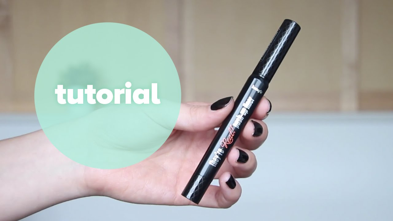 Benefit they're real push up liner review face made up beauty.