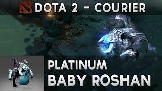 DOTA2 Courier: Platinum Baby Roshan