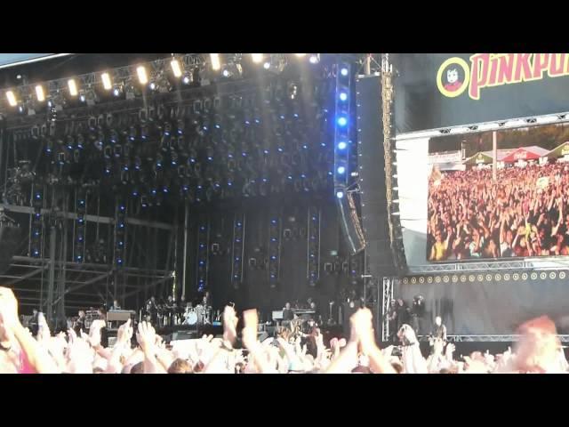 Pinkpop 2012 Landgraaf - Bruce Springsteen met 'Badlands'