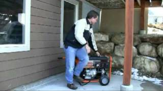 The best way to connect you portable generator to your home.