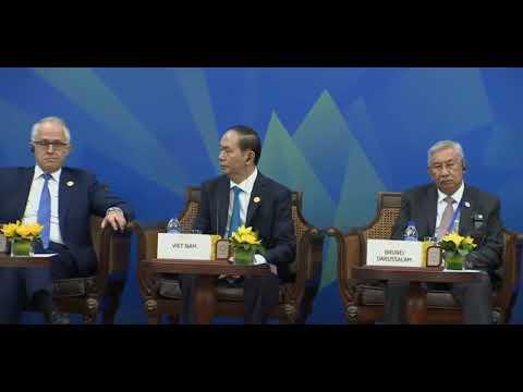 Dialog pemimpin ekonomi APEC. Vietnam APEC Summit 2017