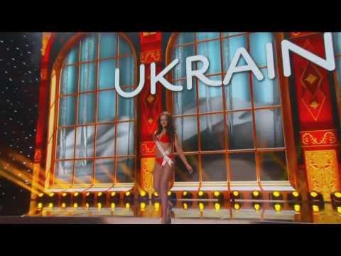 Ukraine - OLGA STOROZHENKO - Miss Universe 2013 Preliminary Competition [HD]