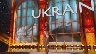 Ukraine - OLGA STOROZHENKO - Miss Universe 2013 Preliminary Competition [HD]