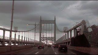 NYC: TRIBORO BRIDGE & HELL GATE BRIDGE