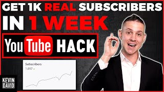 How to Get 1K REAL YouTube Subscribers in 1 Week [Algorithm Hack 2020!]