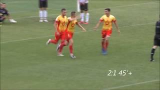 Skrót meczu Znicz Pruszków -  Gryf Wejherowo