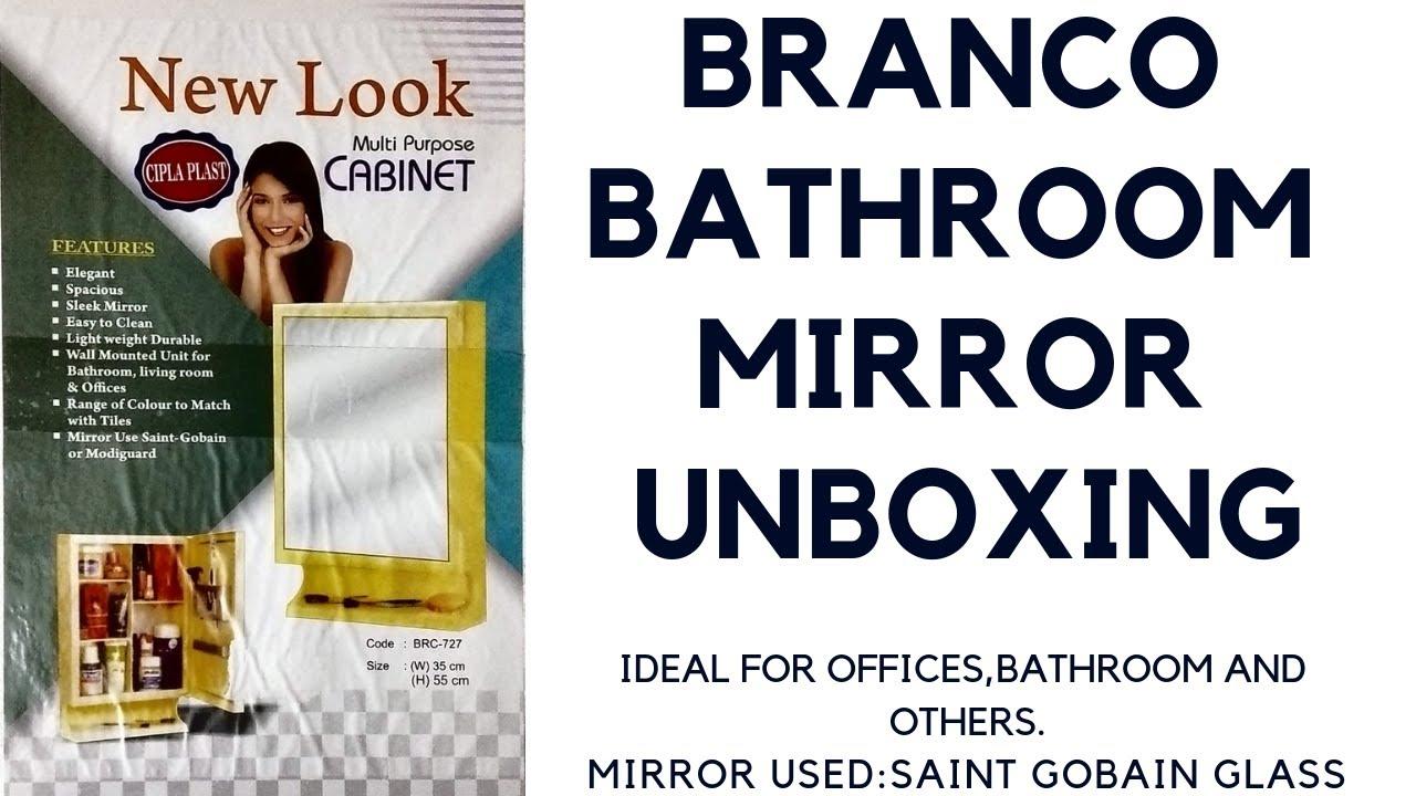 Cipla Plast Branco New Look Bathroom Mirror I The All In One Mirror