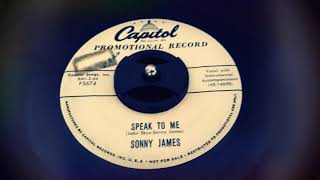 Sonny James - Speak To Me (1957) YouTube Videos