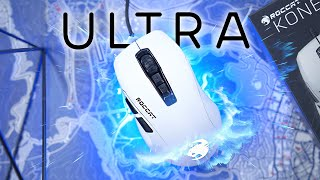 The 66g Roccat Kone Pure Ultra Mouse Review! Meh.