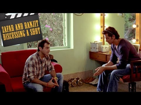 Zafar and Ranjit Rolly discussing a shot | Hrithik Roshan | Sanjay Kapoor | Luck By Chance