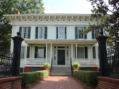 Southern Heirlooms First White House Of The Confederacy 2015