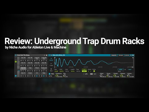 Review: Underground Trap Drum Racks by Niche Audio