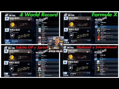 Project CARS 2- Time-Attack [4] World Records [ Formule X ] @ Sakitto GP + National + International