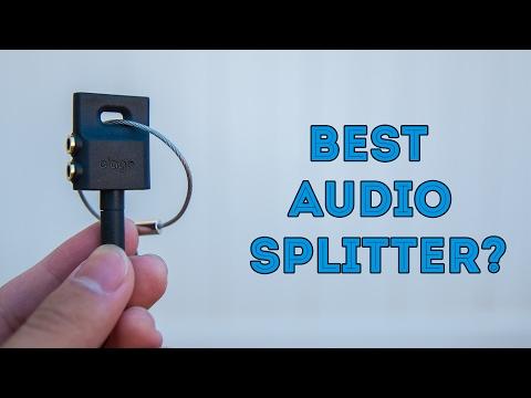 Best Audio Splitter? - Elago Keyring Headphone Splitter Reivew